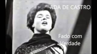 Ada de Castro - Fado com verdade (Arlindo de Carvalho)