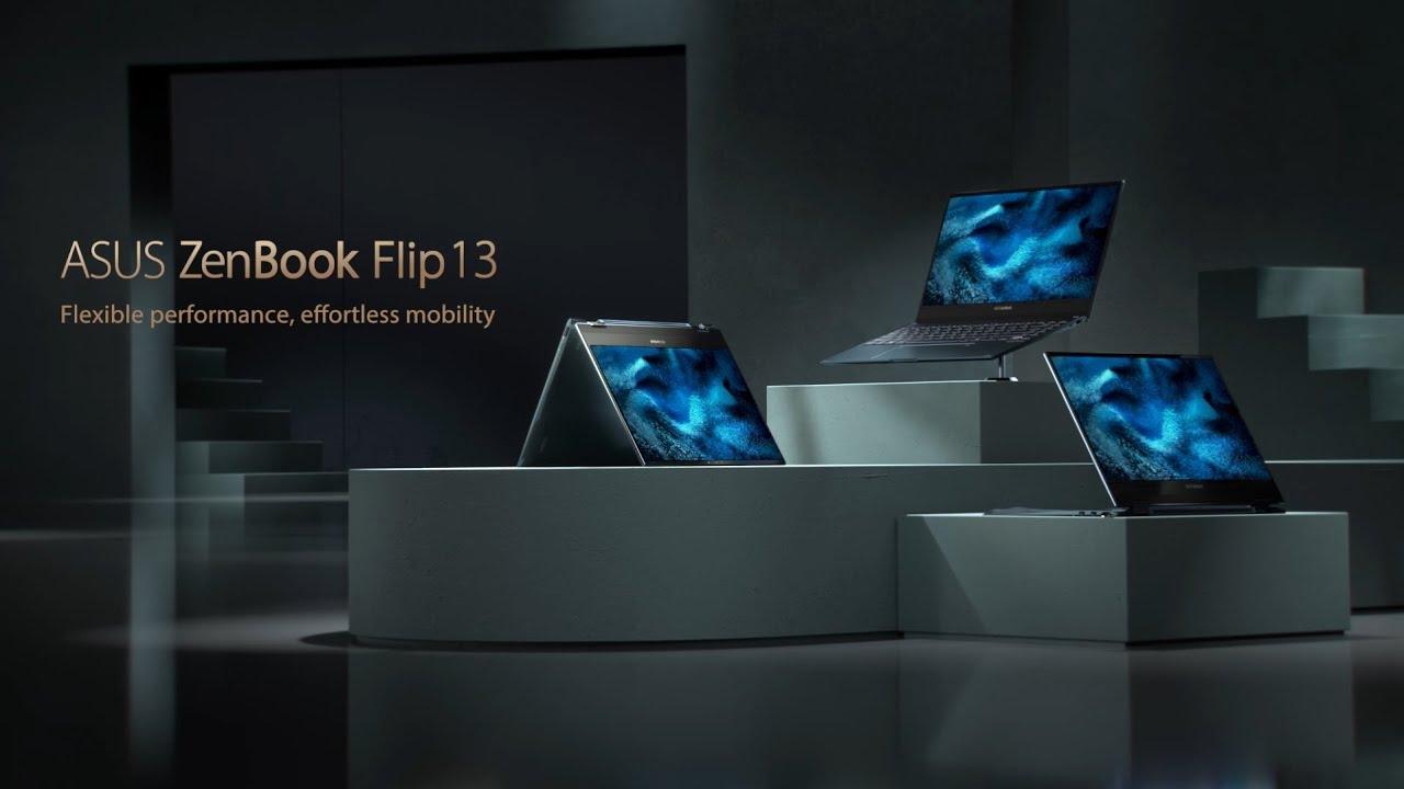 Flexible performance, effortless mobility - ZenBook Flip 13   ASUS - YouTube