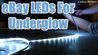 How To Install eBay LEDs for Underglow Ground Effects