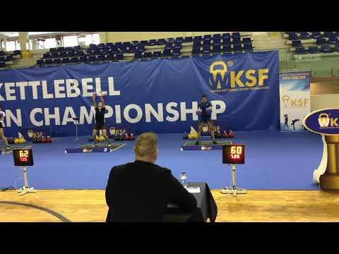 Kettlebell European Championship-Porto 2018-Martina Vespa Abigail Johnston