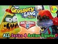 Grossery Gang Bug Strike Movie Action Figures 2018 Complete Set Series 4 Exclusives Toys Unboxing mp3