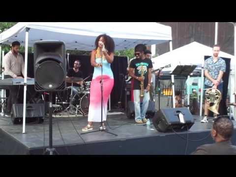 pt. 2 Noel Simone Band of Friends at Harlem Arts Festival 2016