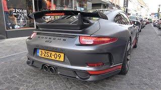 Porsche 991 GT3 with Akrapovic Exhaust - LOUD Revs & Accelerations!