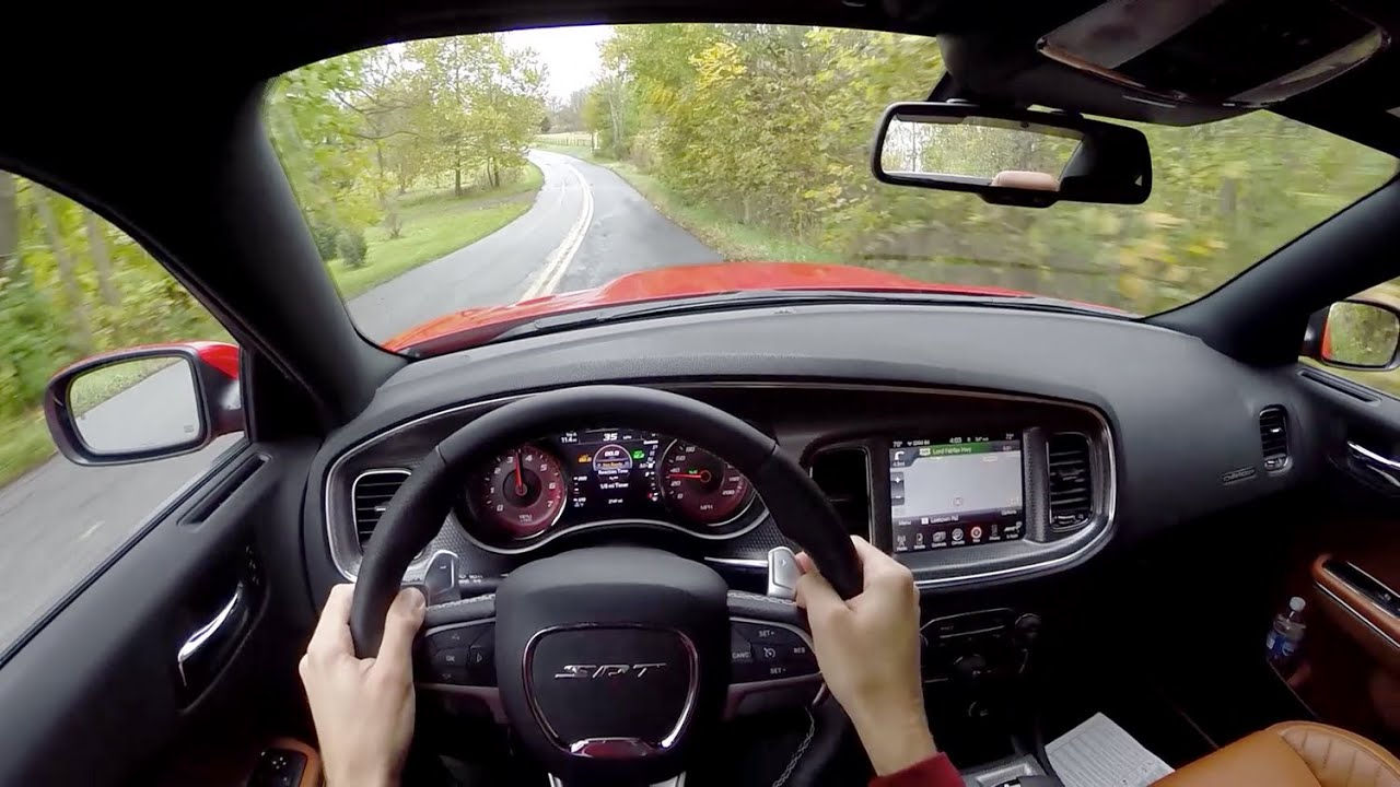 2015 Dodge Charger Srt Hellcat Wr Tv Pov Test Drive