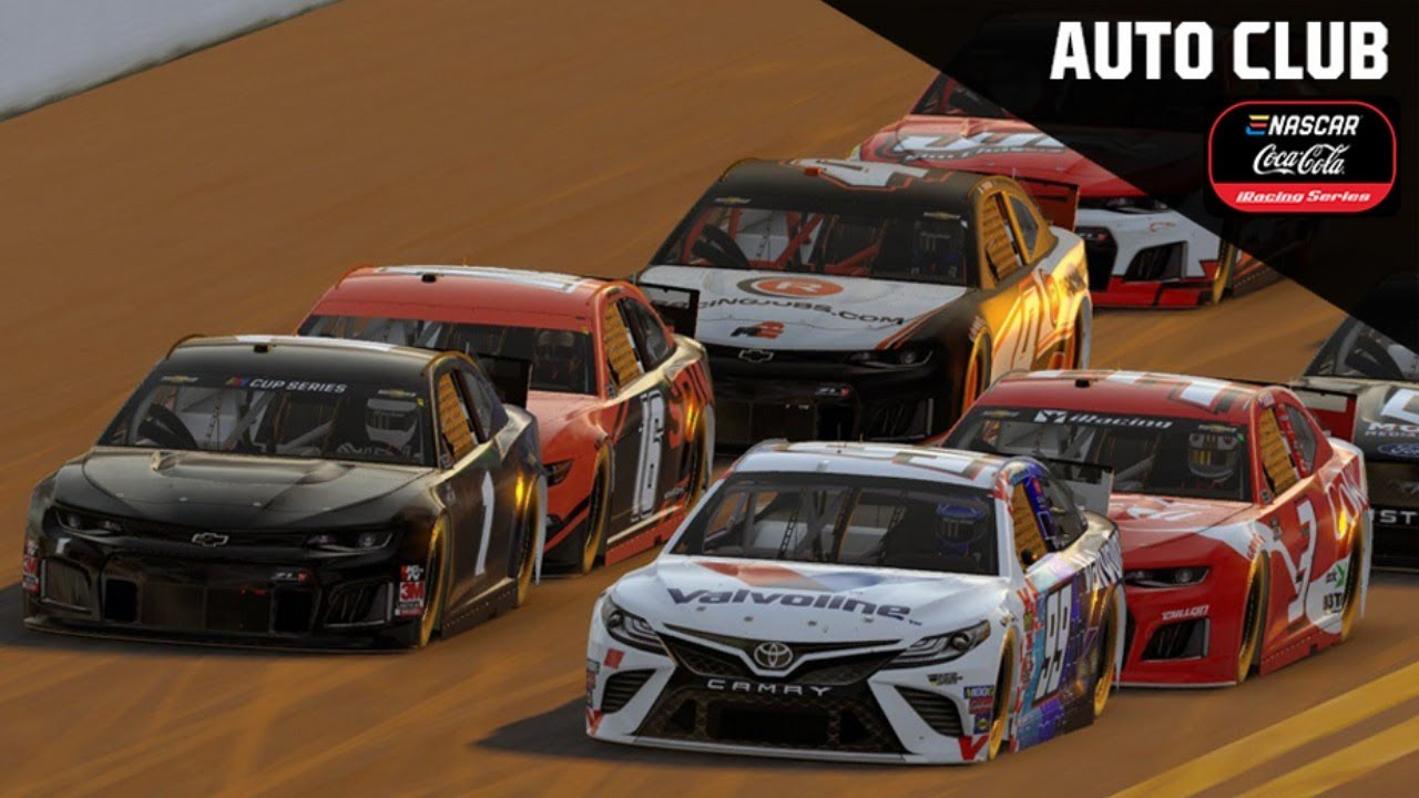 Full Race Replay: eNASCAR Coca-Cola iRacing Series from Auto Club Speedway