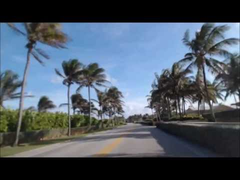 Video of driving in boynton beach Florida