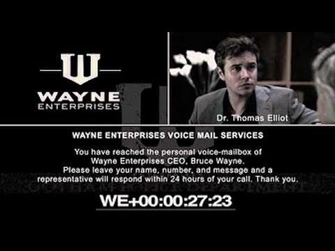 The Joker Blogs - Wayne Enterprises Voice-Mailbox - (SUB ITA)