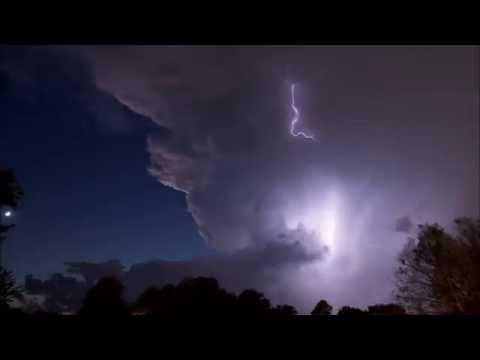 Storm over Oklahoma City