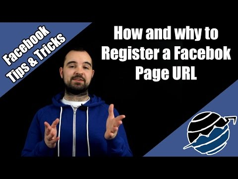 How and Why to register a Facebook Page URL