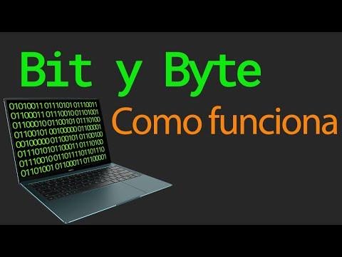 Que es un bit y un byte | Como funciona en la computadora