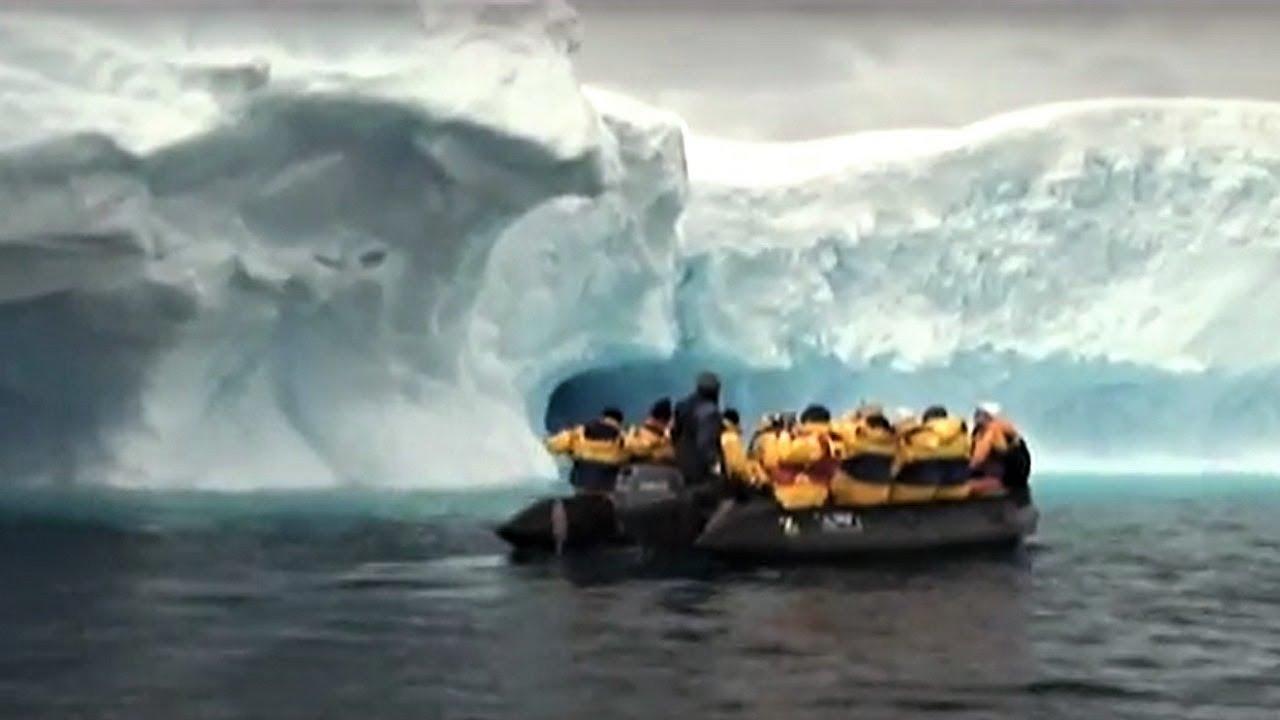 【動画】南極氷の世界