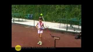 """Детский теннис на теннисных тренажерах """"Теннисан""""."""