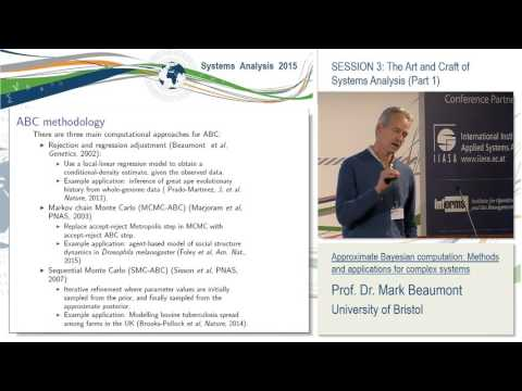Session 3. Mark Beaumont: Approximate Bayesian computation