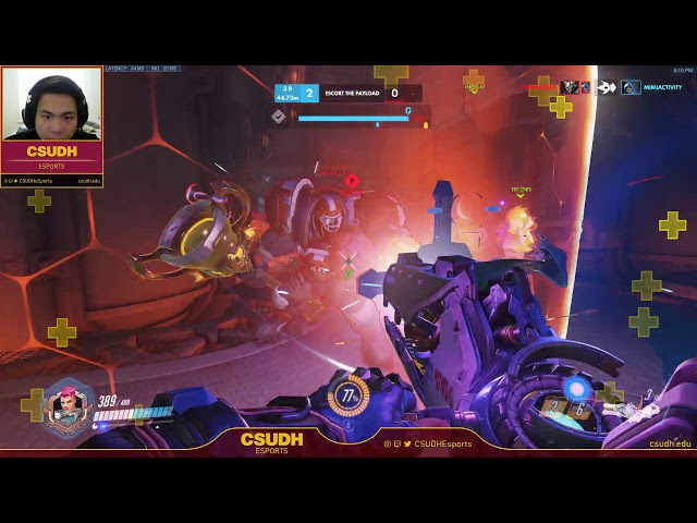 Overwatch feat. 3Dhizzy - CSUDH Esports (03/31/2020)