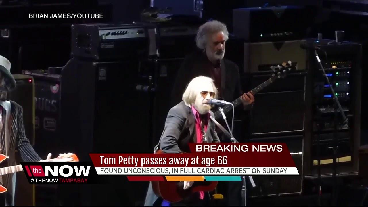 Legendary Rocker Tom Petty Dead At 66