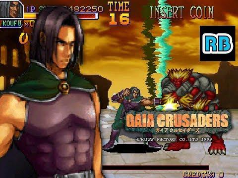 1999 [60fps] Gaia Crusaders Koufu ALL