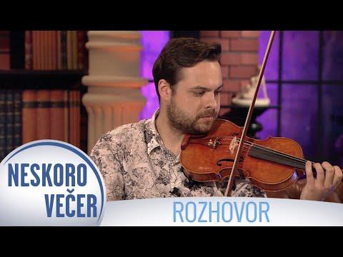 Fenomenálny huslista Dalibor Karvay v Neskoro Večer