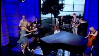 "Sara Bareilles Brave, I choose you, on ""Live w/ Michael & Kelly"""