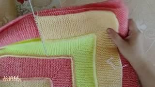 Рандомное вязание День 26 Вяжу Плед спицами