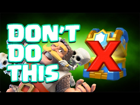Clash Royale Disappearing Clan Chest Fail! Rules - Gotta Play to Win!