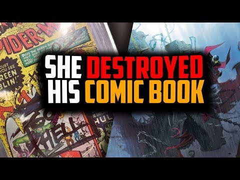 Writing On Comic Books Is Never Good, Spawn #300 Disappointment, Releasing Comics Out Of Order? Ep1