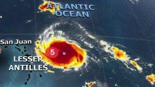 Hurricane Irma grows to powerful Category 5 storm thumbnail