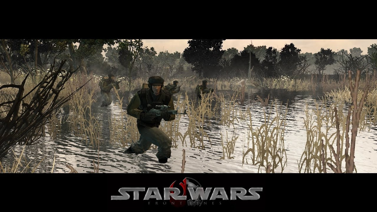 Star Wars Frontlines Combat Test Footage Company Of Heroes Mod Youtube