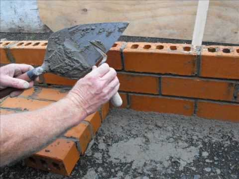 how to build simple brick steps