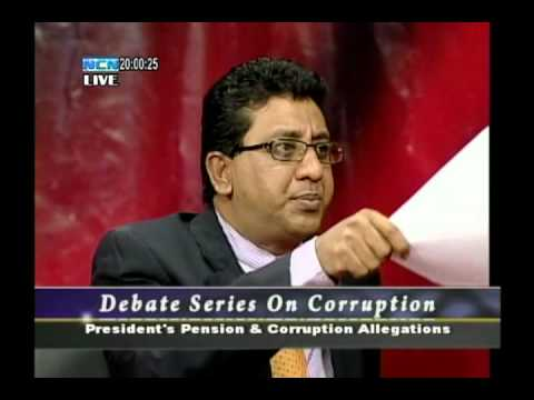 NCN Corruption Debate EP4: President's Pension & Benefits Pt2