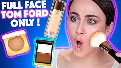 EINFACH HEFTIG TEUER 🤯 Full Face Using Tom Ford Only | High End Makeup Reihe | Hatice Schmidt