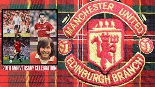 Destination Edinburgh: Man Utd heroes to celebrate with fans