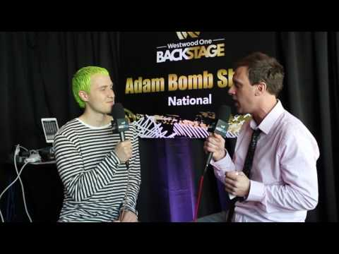 Backstage at the Grammys with Mike Posner