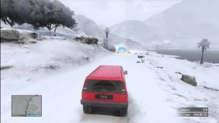 Grand Theft Auto 5 - Snow online on GTA 5 12/14/13