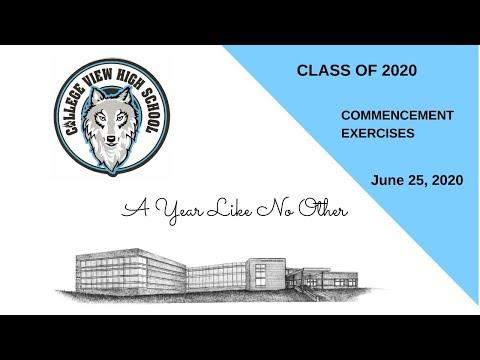 College View High School Graduation - June 25, 2020