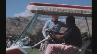 President Gerald R. Ford Golfing at Thunderbird Country Club