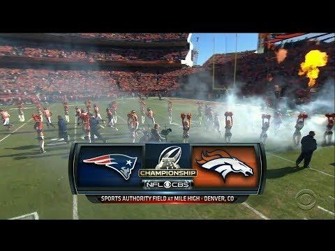 2016 01 24 Afc Championship Game New England Patriots Vs Denver Broncos Youtube