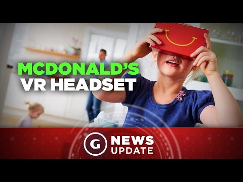McDonald's Is Now Making a VR Headset - GS News Update