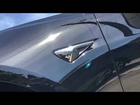 2019 Tesla Model 3 Solid Black - Two Step Correction with Opticoat Pro+