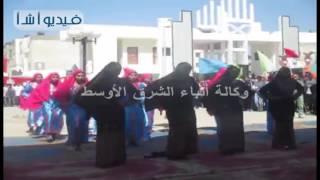 لأول مرة جامعة العريش تحتفل  بذكرى انتصارات أكتوبر بتكريم أسر الشهداء والمجاهدين
