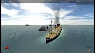 Roblox Titanic sinking - part 1