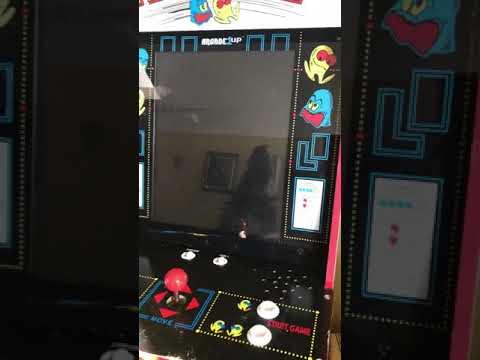 Pac Man arcade 1up startup from Ron Litzenberger