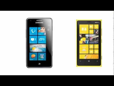 Samsung Omnia M comp. Nokia Lumia 920, comparison