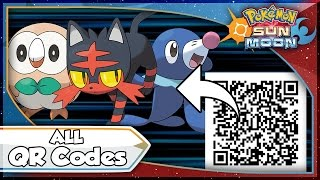 Pokemon Sun and Moon - ALL QR Codes and Pokedex Data Entries! [SM Tips & Tricks]