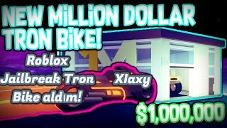 Roblox Jailbreak Tron Bike aldım!