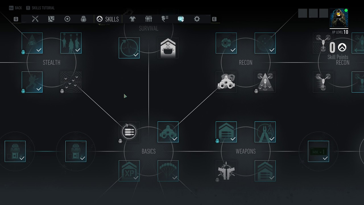 Image result for ghost recon breakpoint skill tree