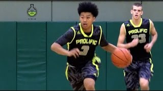soph pg pierre crockrell jr shows high level passing iq ability