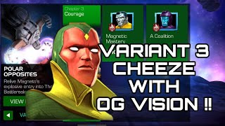 Variant 4 cheese with og vision !! Mcoc ! Hindi !!