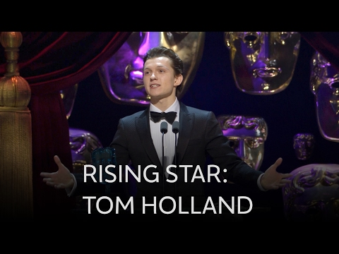 Tom Holland wins Rising Star BAFTA - The British Academy Film Awards 2017 - BBC One
