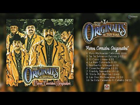 Los Originales De San Juan - Puros Corridos Originales (Disco Completo)