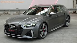 NEW Audi RS6 Avant C8 in SUPERDETAIL BRUTAL SOUND, POWER and design!